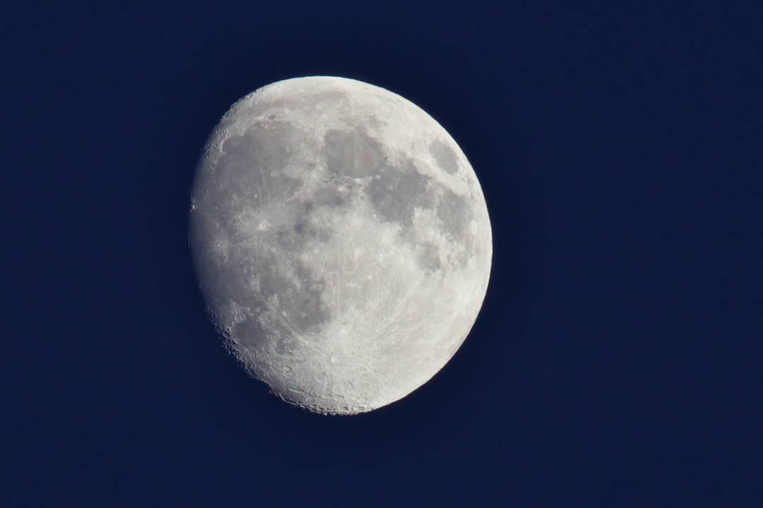 Der Mond bei Nacht
