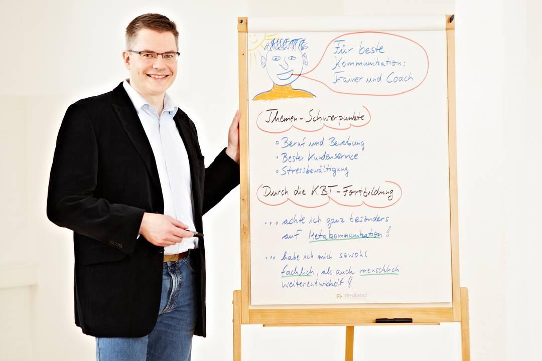 Kurzvorstellung von Bernd Sauer als KBT-Absolvent